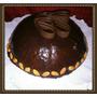 Torta Domo Corazon De Dulce De Leche!! Sabores De La Vida!