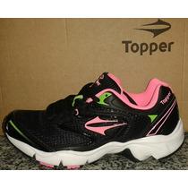 Zapatilla Topper Modelo Lady Softrun Running Del 35 Al 40