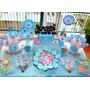 Candy Bar Infantil Frozen, Cupcakes, Mesa Dulce 10 Chicos