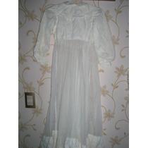 Antiguo Vestido De Comunion Plumeti Año 35