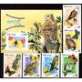 Cuba 2008. Fauna. Buhos Y Mariposas (6 + Bl.)