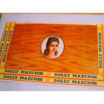 Antigua Etiqueta Cigarros Habanos Dolly Madison Usa Imp.