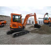 Mini Excavadora Sobre Orugas Doosan Dx35z