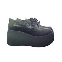 Zapatos Mujer Acordonado Con Plataforma Otoño/invierno 2016
