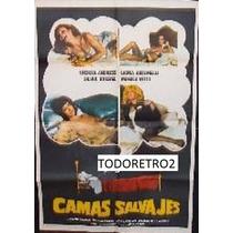 Afiche Camas Salvajes - Ursula Andress, Laura Antonelli 1979