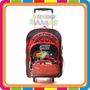 Mochila Con Carro Cars - Disney - Original - Mundo Manias