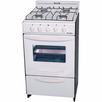 Cocina A Gas Escorial Candor 50cm C/válvula Facil Limpieza
