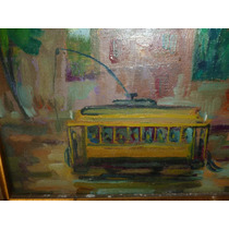 Oleo Cuadro Antonio Chiavetti Pintor Argentino 18x12,5