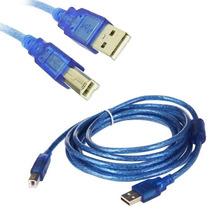 Cable Usb Para Impresora 3 Mts - Vte Lopez