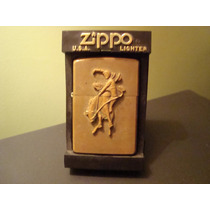 Encendedor Zippo Marlboro Original Bronce