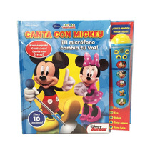 Libro Didactico Musical Canta Con Mickey Original Lic Disney