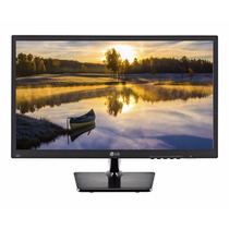 Monitor Lg 20 Led Vga 1600x900 Nuevo! 5ms 19.5 Fact A Y B