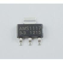7u Regulador 3.3v Ams1117 Smd Atmel, Pic, Arduino, Arm