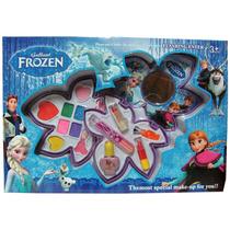 Frozen Cosmetica Puppa 3 Pisos Grande En Caja Multiaccesorio