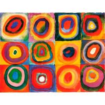 Lienzo (canvas) Importado, Sobre Bastidor - W. Kandinsky