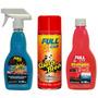 Promo Auto Cera Brillo Pintura+ Quita Brea+ Shampoo Full Car