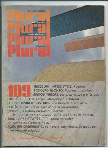 Revista Cultural Plural R. Alonso Ramiz Shehadi Iwaszkiewicz