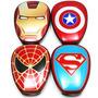 Power Bank Bateria Externa Celular 12000 Mah Avengers Leds