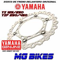 Disco Freno Del Yamaha Yz Yzf 125 250 450 Orig Mg Bikes