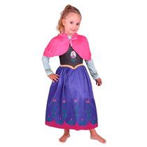 Disfraz Frozen Anna Original New Toys
