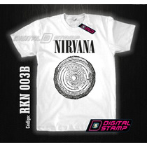Remeras Nirvana Kurt Cobain 3 Estampado Digital Stamp Dtg