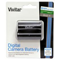 Batería Vivitar En-el15 P/nikon-7000-7100-600-610