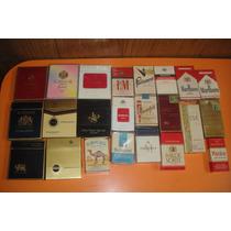 Lote Marquillas De Cigarrillos Importadas