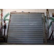 Portón Corredizo 3.80 X 3.25 De Chapa Con Puerta Individual