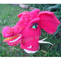 Dragon / Dragona Sherk Gorro De Goma Espuma