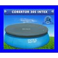 Cobertor Intex 305 Cubre Pileta Redondo