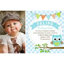 Kit Imprimible Lechuzas Buho Invitación Candybar Cumpleaños