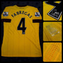 Camiseta Suplente Arsenal - 4 Fabregas