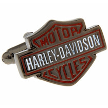Gemelos Harley Davidson Motos Cycle Motor Cuff Links Retro