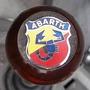 Bocha Palanca De Cambio Abarth Con Logo, En Madera