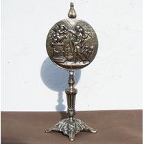 Historical*- Placa Safo De Lesbos Pedestal-baño Plata -envío