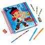 Regalo De Navidad Libro De Pintar Disney Store Jake Pirata
