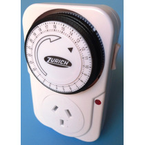 Temporizador Mecanico Analogico Programable Enchufable Timer
