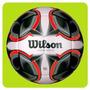 Pelota Futbol Wilson N°5 Cuero Sintetico Local Envio Gratis