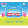Baby Shower - D I V E R T I D O - Kit Imprimible Prediseñado