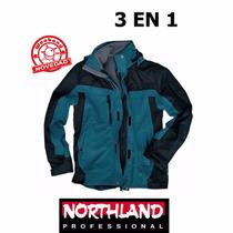 Campera Northland 3en1 Exo Simond-weekendpesca-ultimas