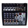 Consola Mixer 8 Canales Usb Mp3 Efec Digitales In Mic Y Pc