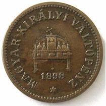 Hungria 2 Filler 1898 * Franz Joseph I * Escasa !
