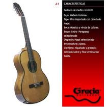 Guitarra Criolla Gracia A-1 Guitarra Criolla Medio Concierto
