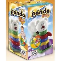 Juguete Didactico 2 En 1 Armá Y Arrastrá A Panda