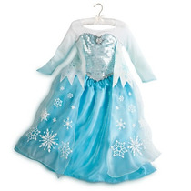 Disfraz Frozen Elsa Para Niñas Disney Store