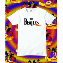 Reptilia Remeras Rock The Beatles (código 05)