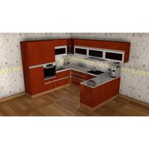 Muebles Cocina Bajomesada * Precio X Metro Lineal * Romanell ...
