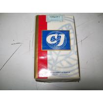 Marquilla Cigarrillos, C J, (caja Blanca) - De Colección