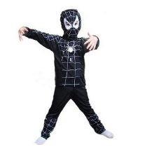 Disfraz Del Hombre Araña Negro Venom Para Niños
