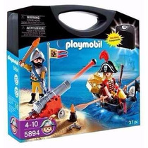 Playmobil 5894 Maletin Soldado Y Pirata Con Bote La Lucila
